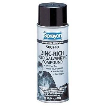 WL740 16oz COLD GALV SPRAY ZINC-RICH GALVANIZING COMPOUND